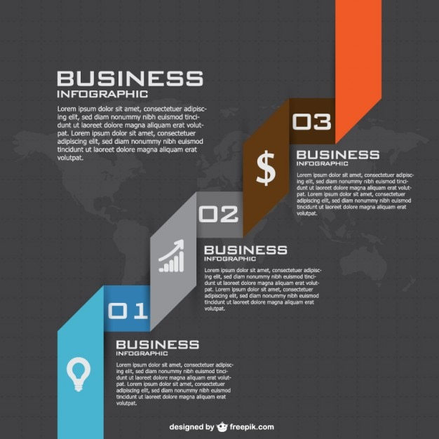 Business strategy infographics Vector Free Download