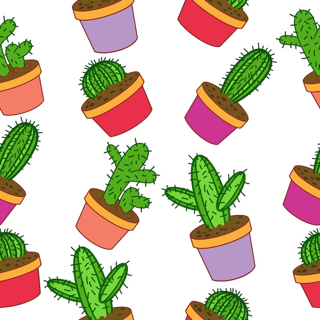 Background Wallpaper Quotes Cactus Pattern Background Vector Free Download