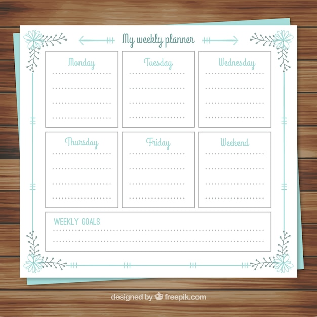 Calendar Agenda Download Free January Calendarcom 2018 Calendar Of The Year Agenda Calendar Weekly Planner In Floral Style Vector Free Download
