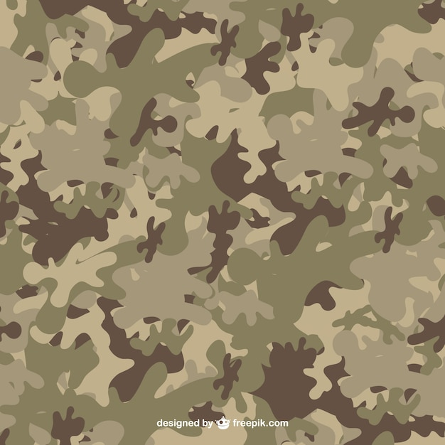 Camouflage pattern Vector Free Download