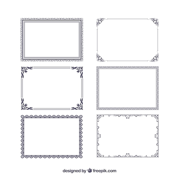 Certificate Frame Vectors, Photos and PSD files Free Download