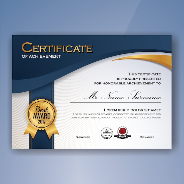 Certificate Vectors, Photos and PSD files Free Download - Free Professional Certificate Templates