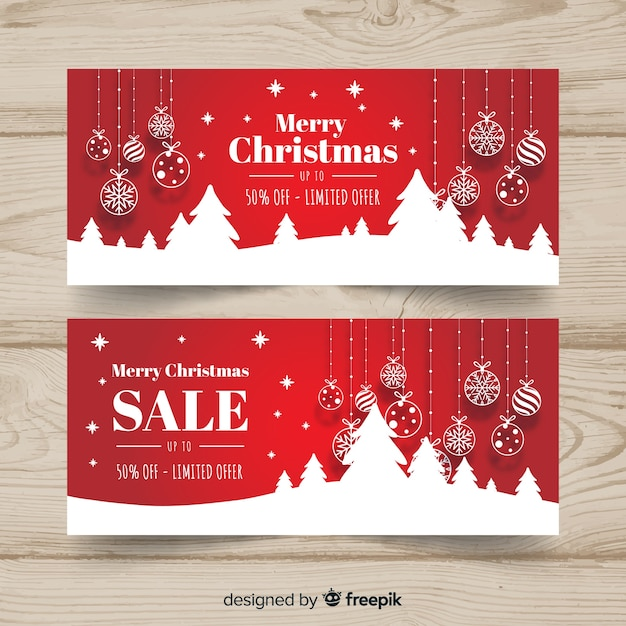 Christmas Sale Vectors, Photos and PSD files Free Download