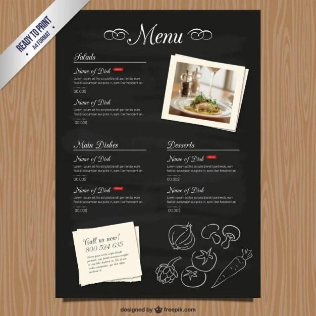 free download restaurant menu templates - Onwebioinnovate