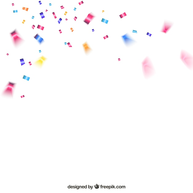 Falling Stars Grunge Wallpaper Colorful Confetti Background Vector Free Download