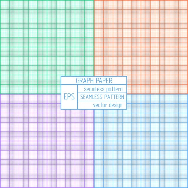 Coloured graph paper pattern Vector Free Download - graph sheet download
