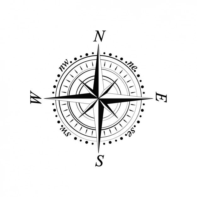 Compass design Vector Free Download