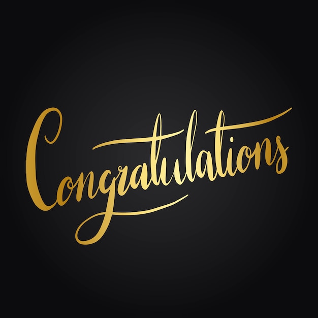 Congratulation Vectors, Photos and PSD files Free Download