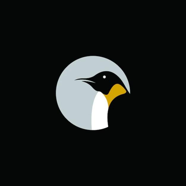 Creative Penguin logo abstract template Vector Premium Download - penguin template