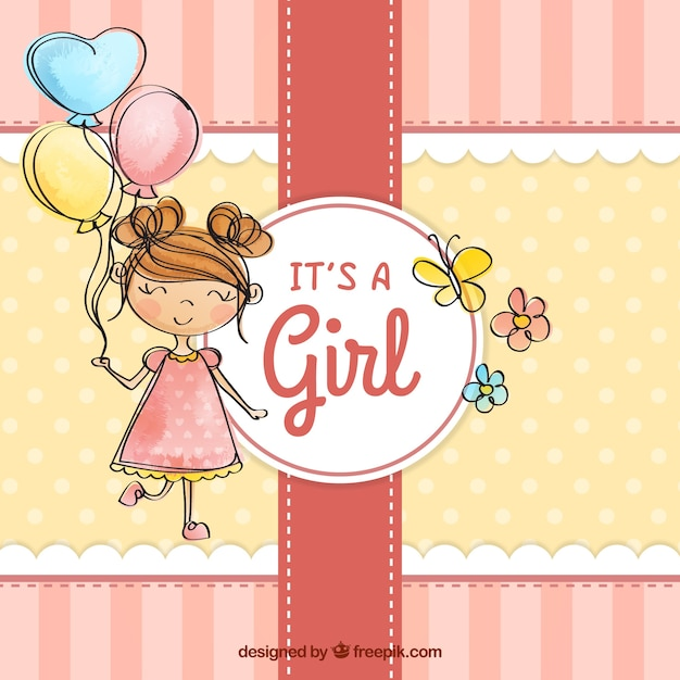 Baby Girl Vectors, Photos and PSD files Free Download