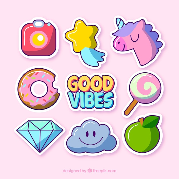 Funny Quotes Free Wallpaper Cute Variety Of Funny Stickers Vector Free Download