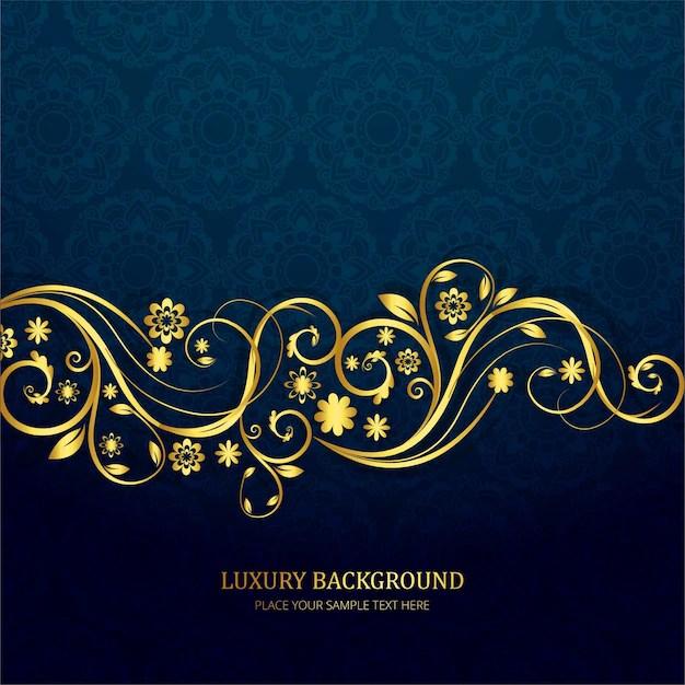 Black Crown Wallpaper Dark Blue Luxury Background Vector Free Download