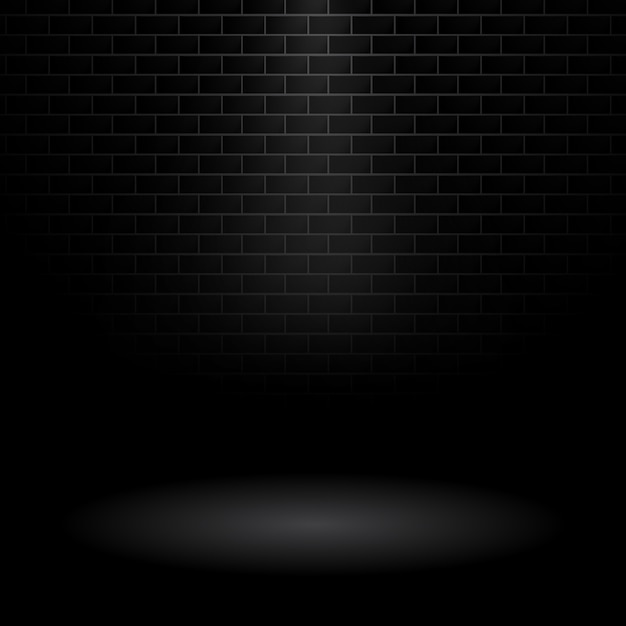 Black Brick Wallpaper Dark Wall Background Vector Free Download