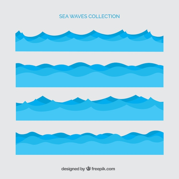 Ocean Vectors, Photos and PSD files Free Download - ocean waves animations
