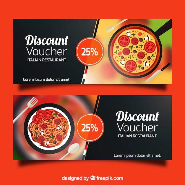 Discount vouchers banners design Vector Free Download - discount voucher design