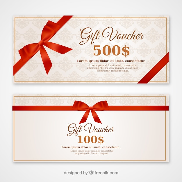 20+ Free Coupon and Gift Voucher Templates Vector Download - discount coupons templates