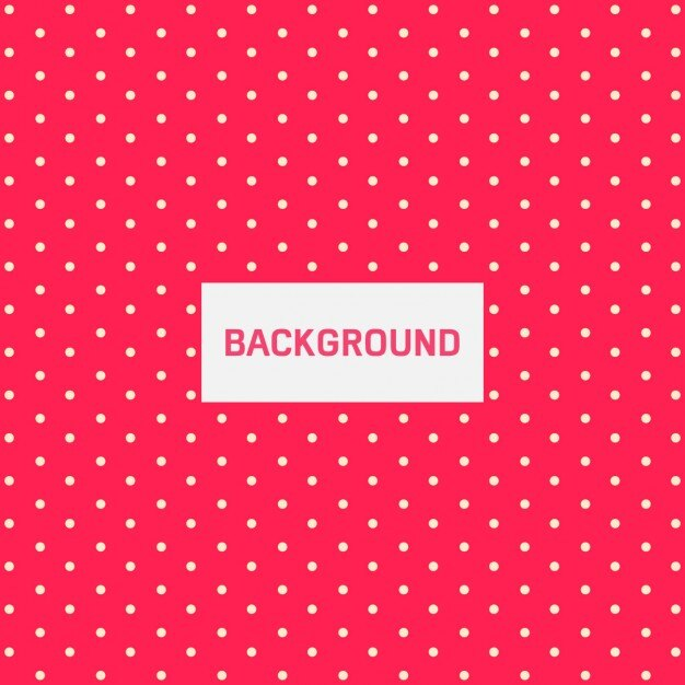 Dotted cute background Vector Free Download