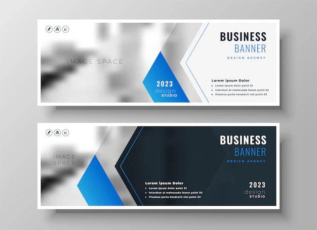 banner design template