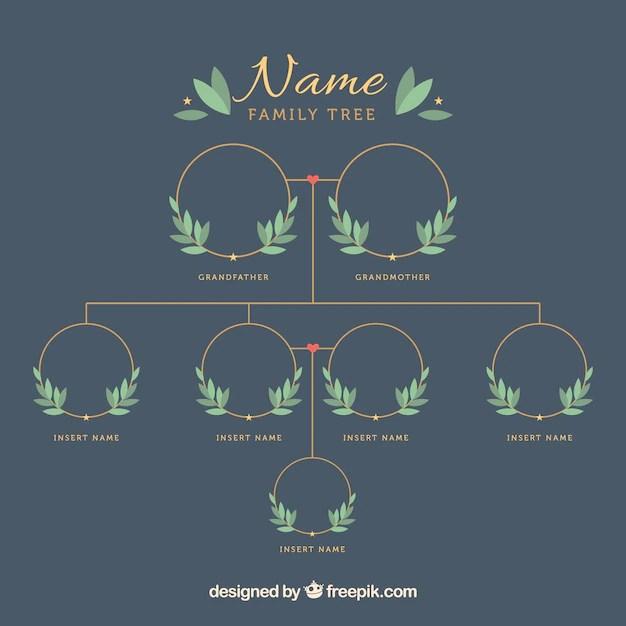 Empty Family Tree Colbro