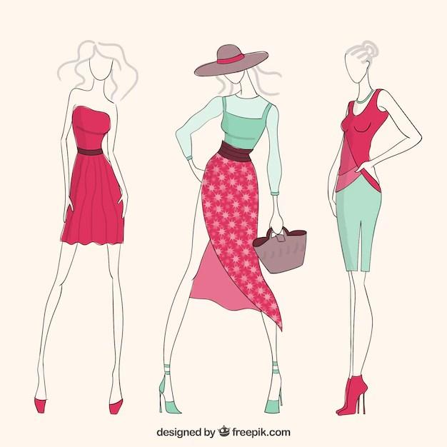 Fashion girls Vector Free Download