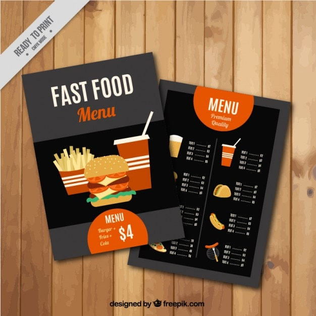Menu Brochure Template Free Bbapowersinfo Sports Bar Menu Flyer - food menu template