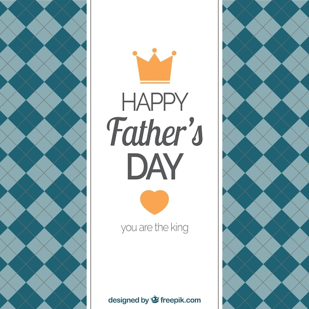 Fathers day card template Vector Premium Download