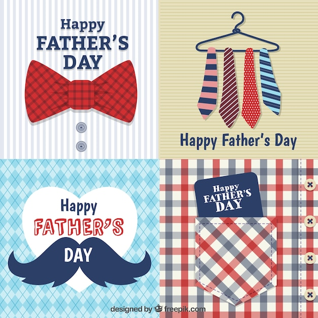 Fathers day cards Vector Free Download - father day cards