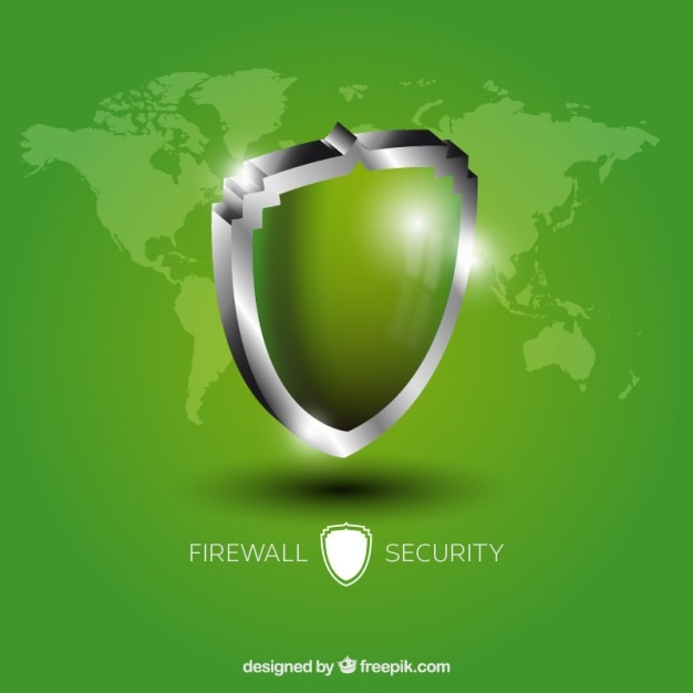 Firewall security Vector Free Download