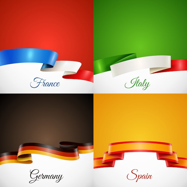 Italian Flag Vectors, Photos and PSD files Free Download