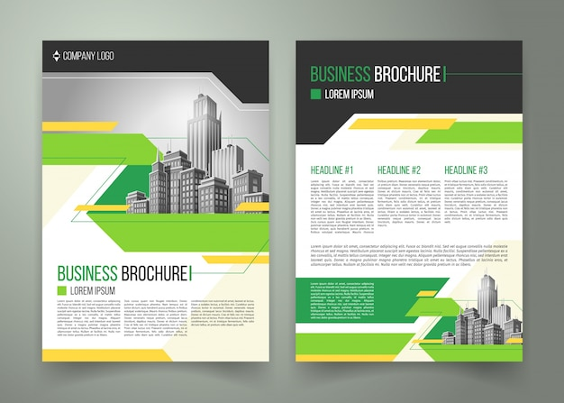 Flyer, cover design, business brochure Vector Free Download - design cover