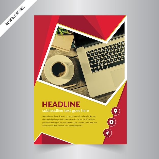 Flyer design Business brochure template Annual report cover - advertisement brochure