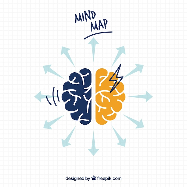 Mind Map Vectors, Photos and PSD files Free Download