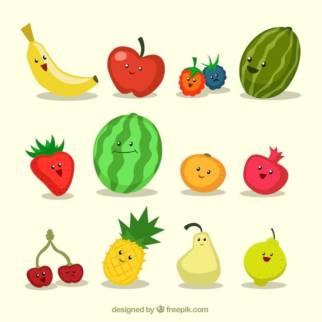 Cute Kiwi Wallpaper Funny Fruits Vector Premium Download