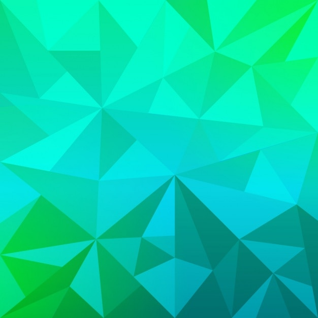 Abstract Vector Wallpaper Hd Geometric Blue And Green Background Vector Free Download