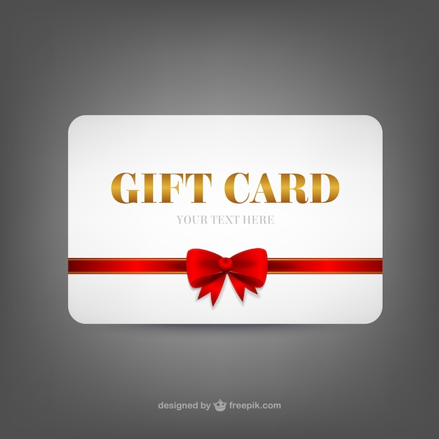 Gift card template Vector Free Download - gift card templates
