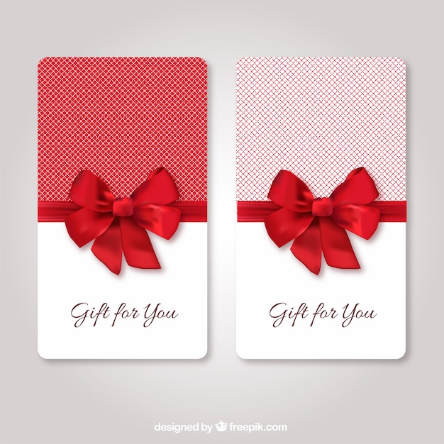 Gift cards template Vector Free Download - gift card templates