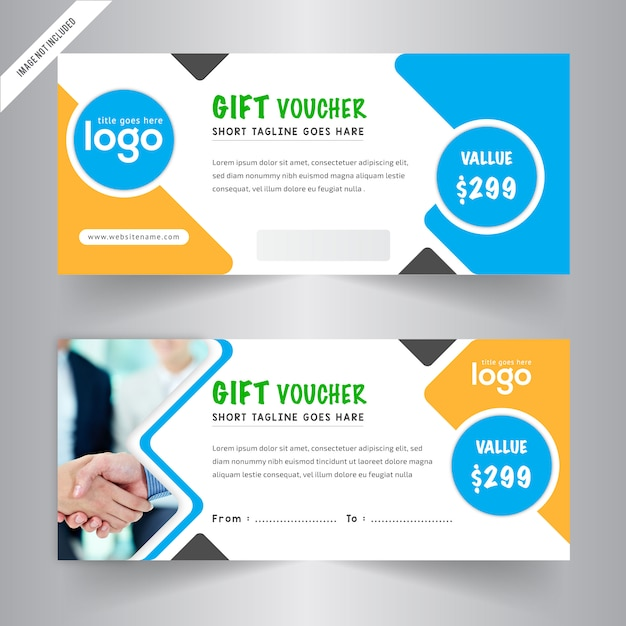 Gift vouchers templates Vector Free Download - free voucher templates