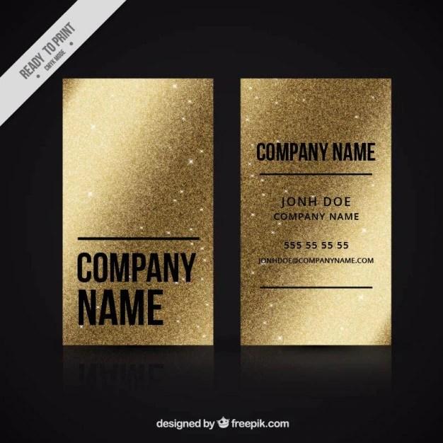 Black Silver Glitter Wallpaper Golden Business Card Made Up Of Metallic Paint Vector