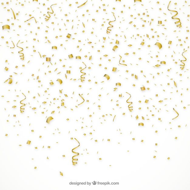 Cute Wallpapers Green Mint Golden Confetti Background Vector Free Download