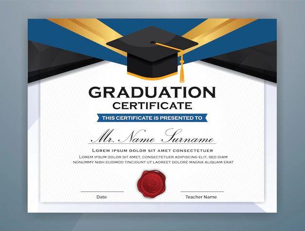 formato de diplomas