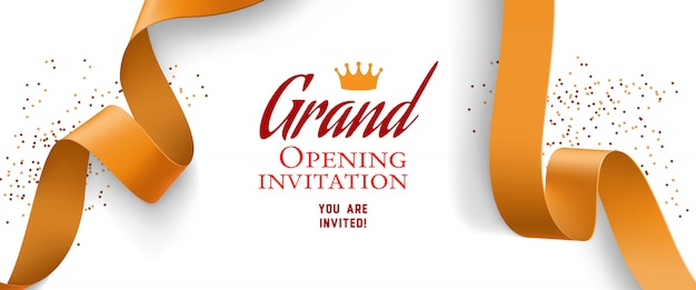 Opening Invitation Vectors, Photos and PSD files Free Download