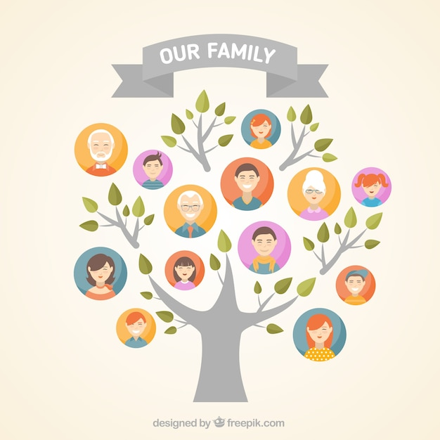 Family Tree Vectors, Photos and PSD files Free Download