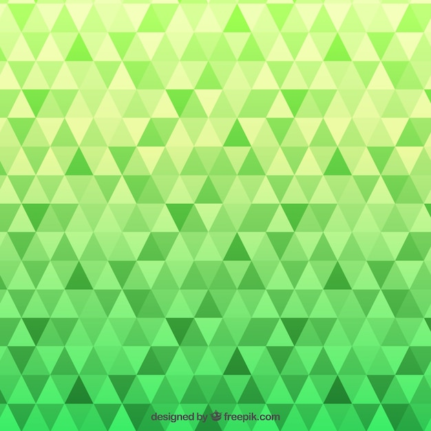 3d Colour Wallpaper Green Pattern With Triangles Vector Free Download