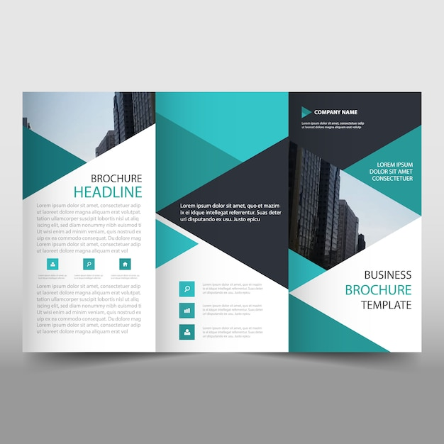 Trifold Brochure Vectors, Photos and PSD files Free Download - tri fold brochure