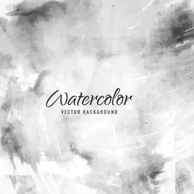 Grey watercolor background Vector Free Download