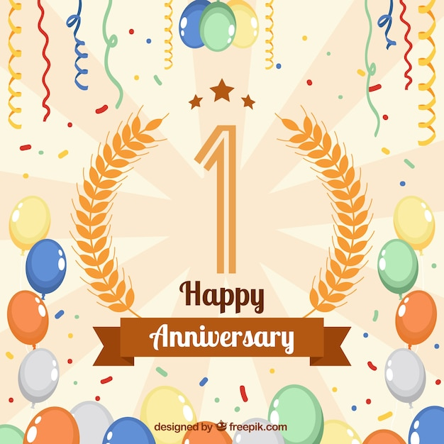 Happy anniversary background Vector Free Download - free anniversary images