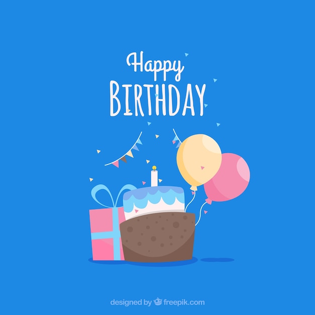 Happy birthday card template Vector Free Download - happy birthday card templates free