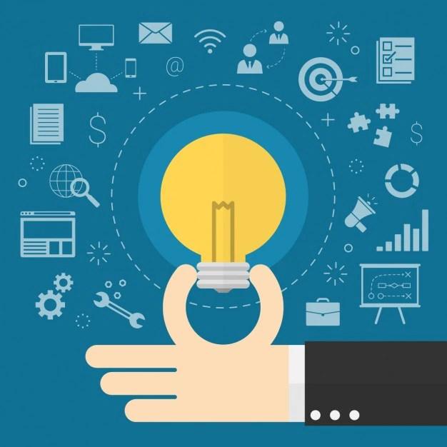 Having and idea design Vector Free Download