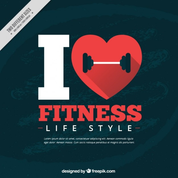 Dance Quotes Wallpapers Hd I Love Fitness Background Vector Premium Download