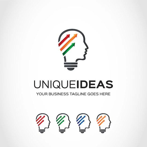 Idea logo design Vector Free Download